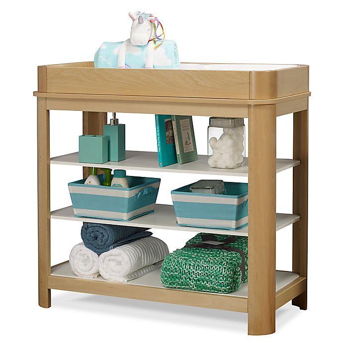 Alternate image 1 for Sorelle Cortina 3-Shelf Dressing Table