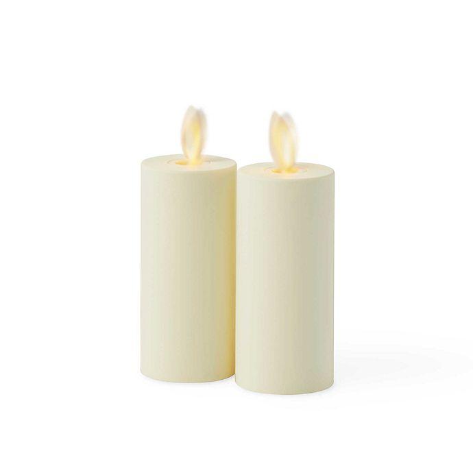 Alternate image 1 for Luminara® Flameless Votive Candles in Ivory(Set of 2)