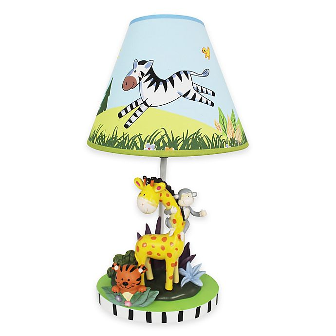 Alternate image 1 for Teamson Fantasy Fields Sunny Safari Kids Table Lamp
