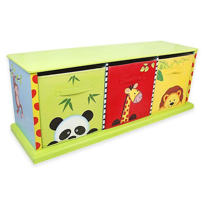 Alternate image 1 for Teamson Fantasy Fields Sunny Safari 3-Drawer Storage Cubby