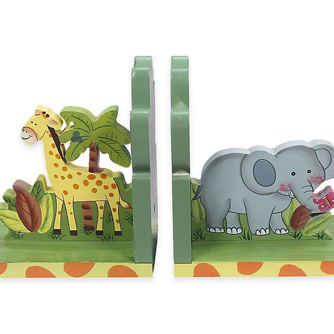 Alternate image 1 for Teamson Fantasy Fields Sunny Safari Bookends Set
