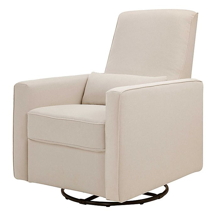 Alternate image 1 for DaVinci Piper All-Purpose Upholstered Glider Recliner in Cream