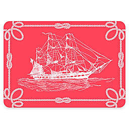 The Softer Side by Weather Guard™ Nautical Ship Kitchen Mat