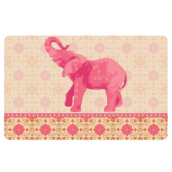 Alternate image 1 for The Softer Side by Weather Guard™ 23-Inch x 36-Inch Elephant 3 Kitchen Mat