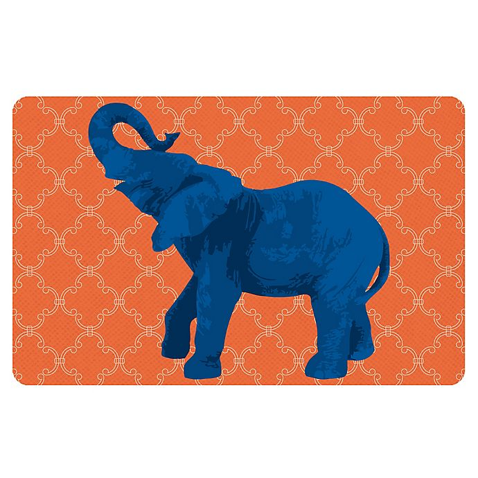 Alternate image 1 for The Softer Side by Weather Guard™ 18-Inch x 27-Inch Elephant 5 Kitchen Mat