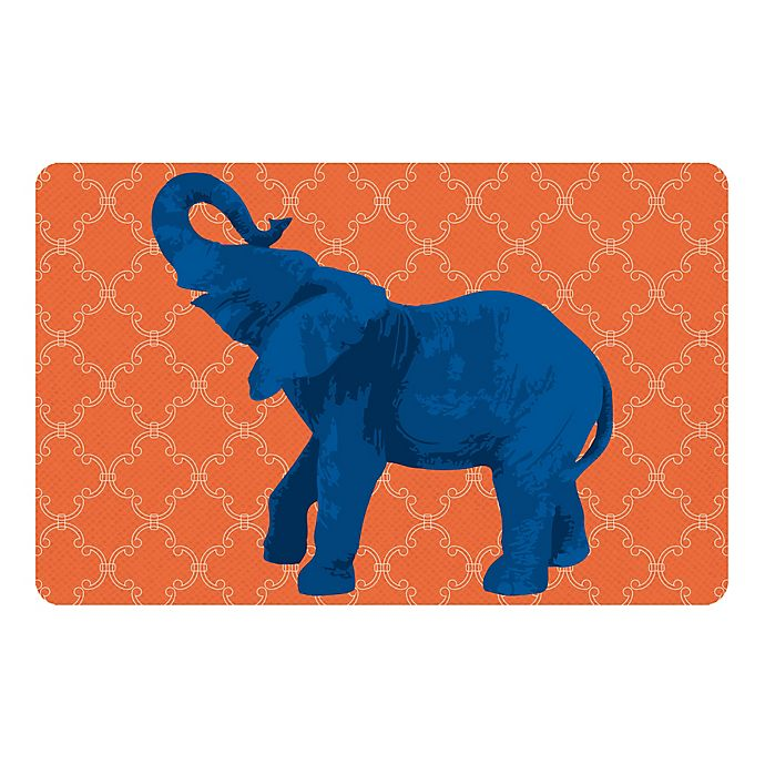 Alternate image 1 for The Softer Side by Weather Guard™ 23-Inch x 36-Inch Elephant 5 Kitchen Mat