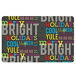 The Softer Side by Weather Guard™ Merry & Bright Kitchen Mat