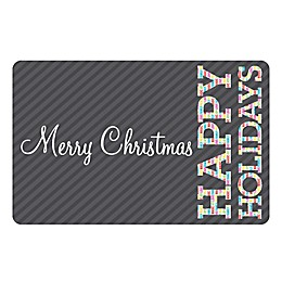 The Softer Side by Weather Guard™ Merry & Bright 4 Kitchen Mat