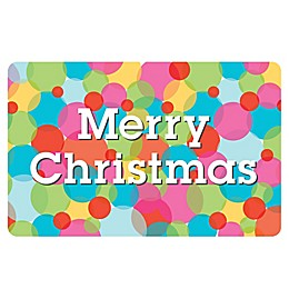 The Softer Side by Weather Guard™ Merry & Bright 5 Kitchen Mat
