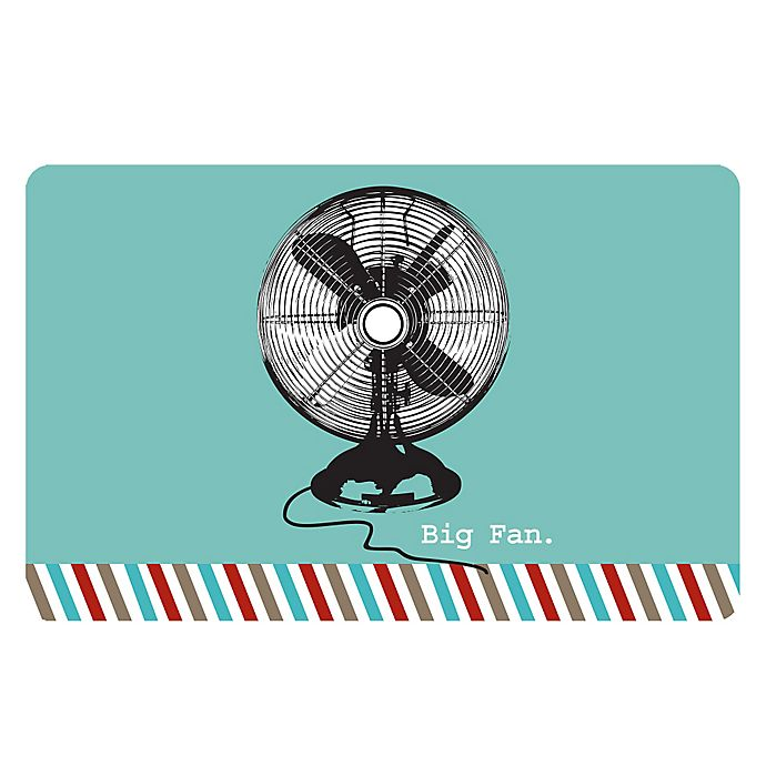 Alternate image 1 for The Softer Side by Weather Guard™ 18-Inch x 27-Inch Retro Fan Kitchen Mat