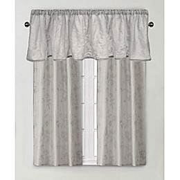 Wamsutta® Vintage Floral Embroidery Window Curtain Panel and Valance