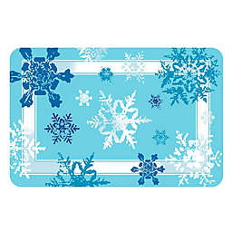The Softer Side by Weather Guard™ Snowflakes Kitchen Mat