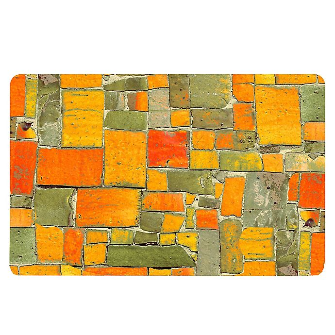 Alternate image 1 for The Softer Side by Weather Guard™ 18-Inch x 27-Inch Stone Mosaic Kitchen Mat