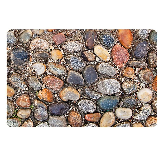 Alternate image 1 for The Softer Side by Weather Guard™ 18-Inch x 27-Inch Stone Path Kitchen Mat