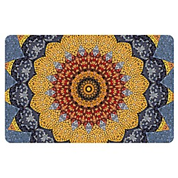 The Softer Side by Weather Guard™ Sundial Mosaic Kitchen Mat