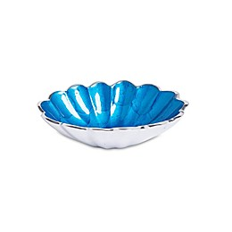 Julia Knight® Peony 5-Inch Oval Bowl in Teal