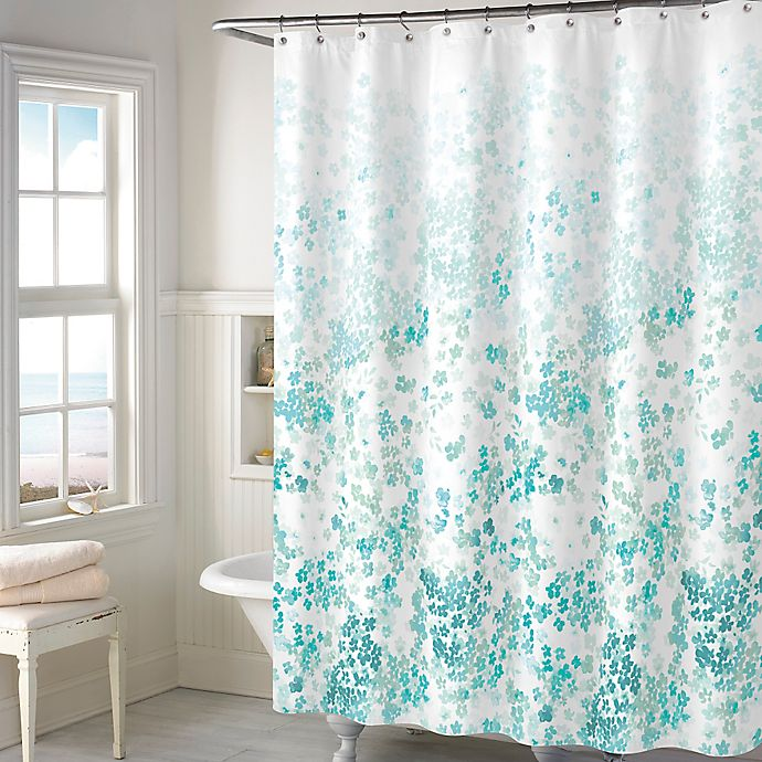 Alternate image 1 for Kimberly Floral Shower Curtain