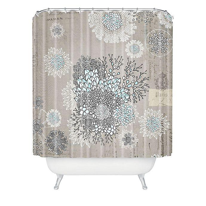 Alternate image 1 for Deny Designs Iveta Abolina French Blue Shower Curtain