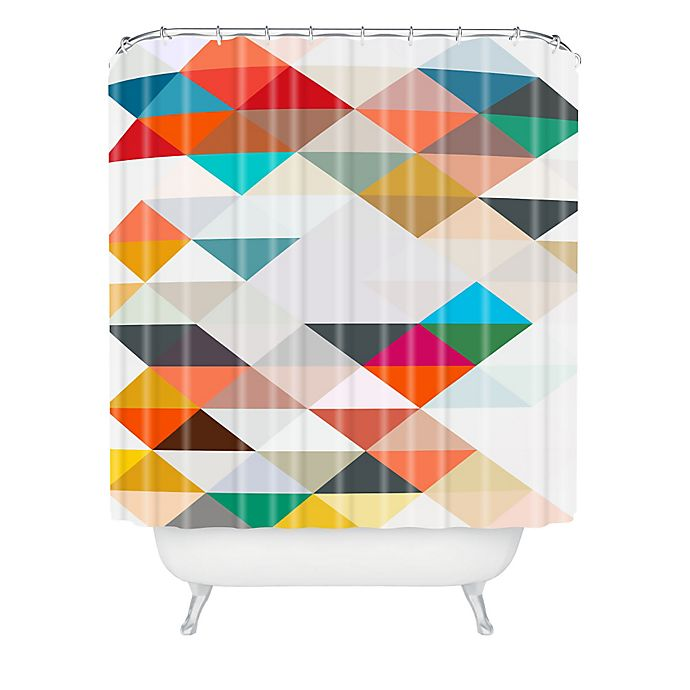 Alternate image 1 for Deny Designs Three of the Possessed South Shower Curtain