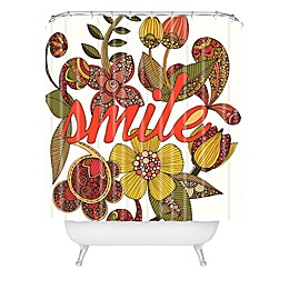 Deny Designs Valentina Ramos Smile Sunshine Shower Curtain