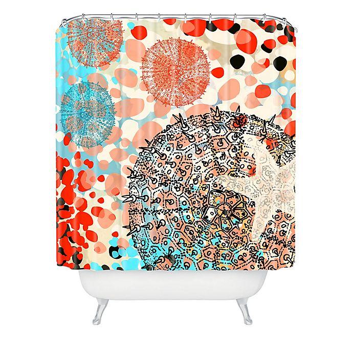 Alternate image 1 for Deny Designs Irena Orlov Exotic Sealife Shower Curtain in Blue