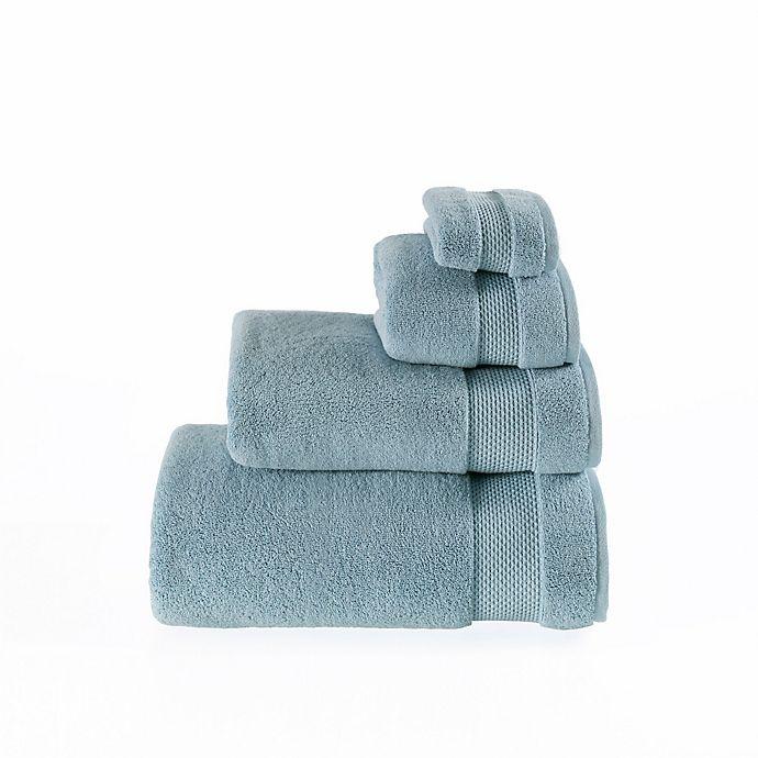 Alternate image 1 for Valeron Oversized Luxury Hand Towel in Sea Blue