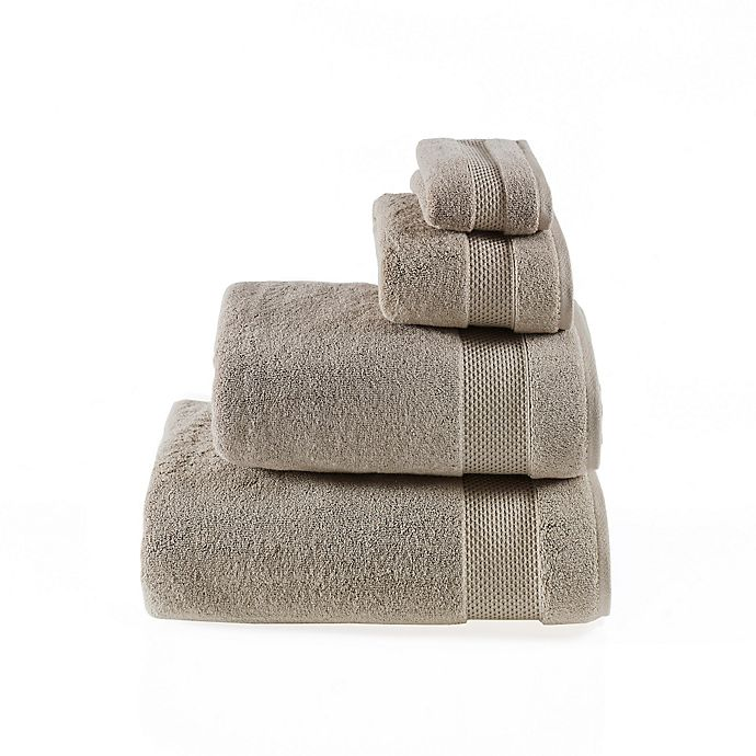 Alternate image 1 for Valeron Oversized Luxury Hand Towel in Taupe