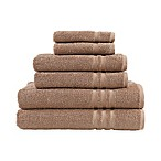 Linum Home Textiles Denzi 6-Piece Towel Set in Latte