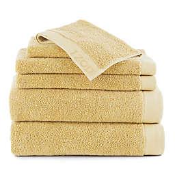IZOD® Classic Cotton 6-Piece Towel Set in Lemon
