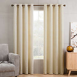 Sketch Grommet Top Window Curtain Panel