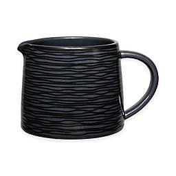Noritake® Black on Black Swirl Creamer