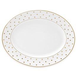 kate spade new york Larabee Road™ Gold 13-Inch Oval Platter