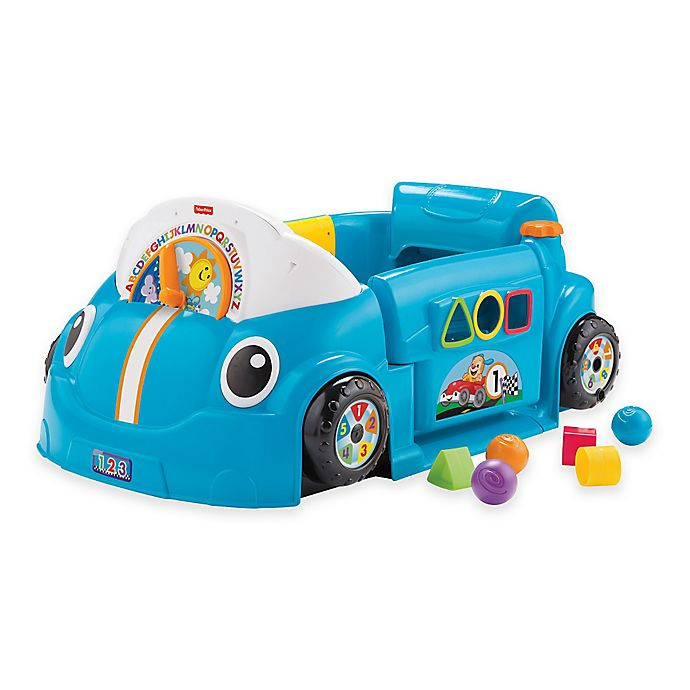 Alternate image 1 for Fisher-Price® Laugh & Learn™ Crawl Around™ Car in Blue