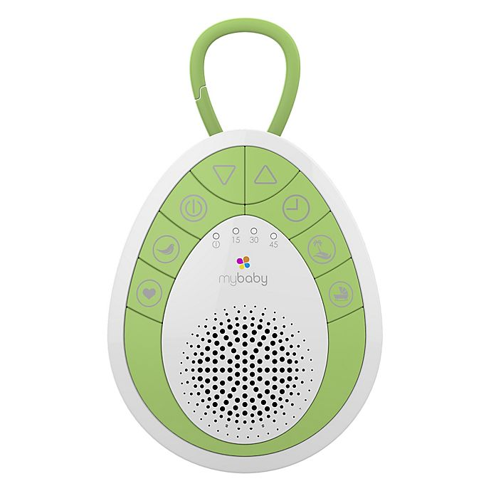 Alternate image 1 for HoMedics® MyBaby SoundSpa On-The-Go Sound Machine in Green