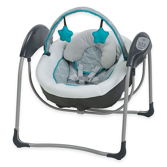Alternate image 1 for Graco® Glider Lite™ Gliding Swing in Finch™
