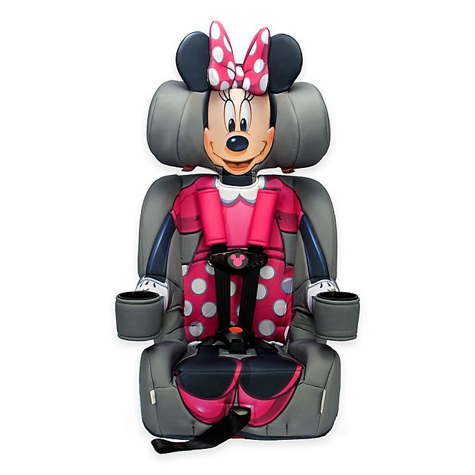 Alternate image 1 for KidsEmbrace® Disney Minnie Mouse Combination Harness Booster Car Seat