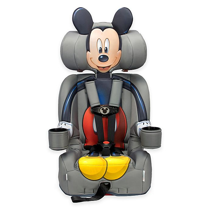 Alternate image 1 for KidsEmbrace® Disney Mickey Mouse Combination Harness Booster Car Seat