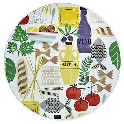 Boston International Antipasto Round Platter