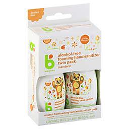 Babyganics® 2-Pack 1.69 oz. On-the-Go Alcohol-Free Foaming Hand Sanitizer in Mandarin