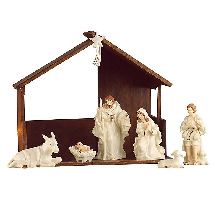 Belleek Holiday Collection 9 Piece Christmas Nativity Set Bed Bath Beyond