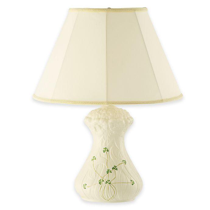 Alternate image 1 for Belleek Daisy Table Lamp