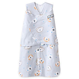 HALO® SleepSack® Lions, Tigers, Bears Multi-Way Adjustable Swaddle in Grey