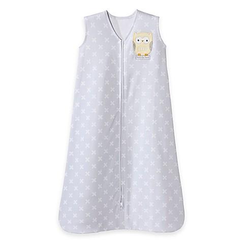 HALO® SleepSack® Owl Wearable Blanket in Yellow/Grey
