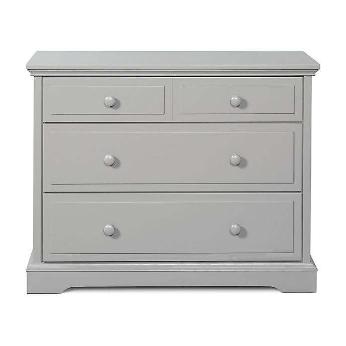 Alternate image 1 for Child Craft™ Universal Premier 3-Drawer Dresser in Cool Gray