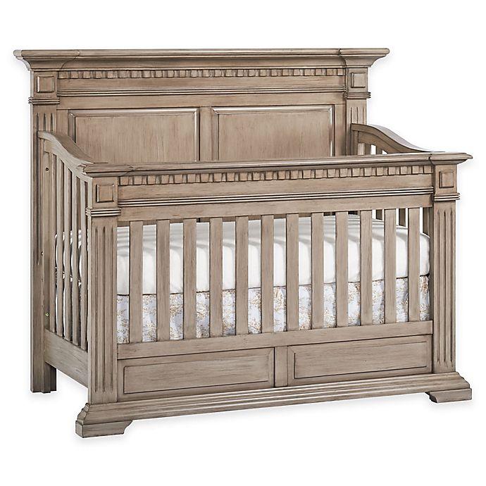 Alternate image 1 for Kingsley Venetian 4-in-1 Convertible Crib in Driftwood