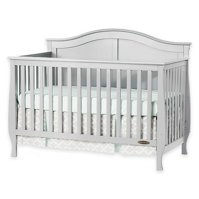 Alternate image 1 for Child Craft™  Camden 4-in-1 Convertible Crib in Cool Grey