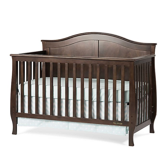 Alternate image 1 for Child Craft™  Camden 4-in-1 Convertible Crib in Slate