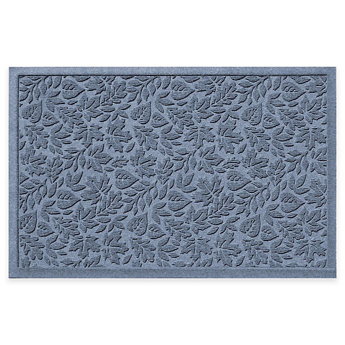 Alternate image 1 for Weather Guard™ Fall Day 31-Inch x 21-Inch Indoor/Outdoor Door Mat in Blue
