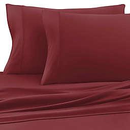SHEEX® Experience Performance Fabric Twin Sheet Set in Burgundy