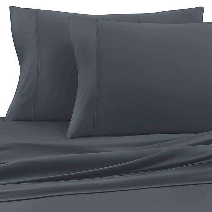 Alternate image 1 for SHEEX® Experience Performance Fabric King Sheet Set in Charcoal